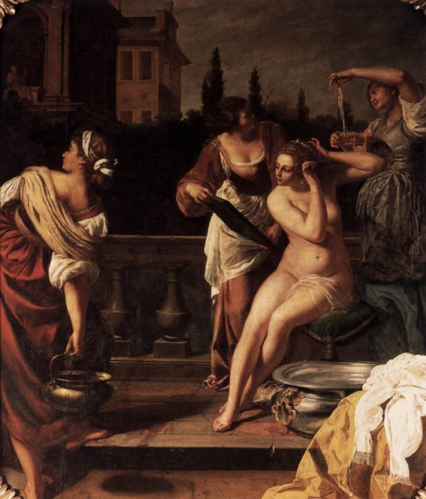 Bathing Bathsheba, 1650